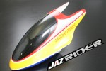 Glass Fibre Canopy (Red w/ Yellow) Set For Align Trex T-rex 450 AE SE V2 parts - Jazrider Brand [JR-HAG-TX450-078]