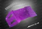 Alloy Skid Plate (Purple) For HPI Savage Nitro Off Road Series - Jazrider Brand [JR-CHP-SAV-035]