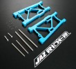 Alloy Rear Lower Suspension Arm Set (Blue) [IF122 IF122C] - Kyosho Inferno MP 7.5 Nitro Buggy PARTS - Jazrider Brand [JR-CKS-MP75-011]