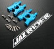 Alloy Center Gear Box Set (Center Differential Housing) (Blue) [IF131] - Kyosho Inferno MP 7.5 Nitro Buggy PARTS - Jazrider Brand [JR-CKS-MP75-002]