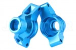 Tamiya TT-02 Aluminum Rear Hub Carrier (Light Blue)