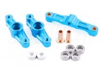 Tamiya TT-02 Aluminum Ball Bearing Steering Assembly Set (Light Blue)